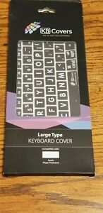 Large print keyboard cover