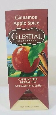 Celestial Seasonings Cinnamon Apple Spice Herb Tea  25 Bags