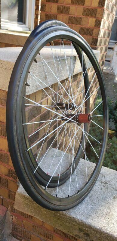 Bontrager Race XXX Lite Tubular Wheelset 10spd (Originally Levi Leipheimer