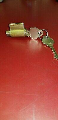 Locksmith Medeco Corbin Key In Knob Lock Cylinder 20-5005p 04 606 Level 2 Brass