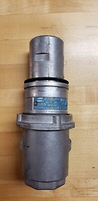 Crouse Hinds Apj6385 Arktite Plug Body Grounded 60a 2w 3p 250vdc 600vac
