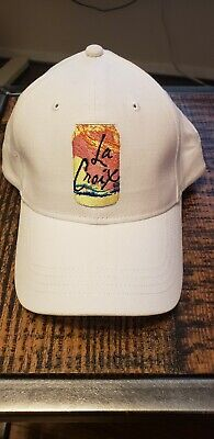La Croix Adjustable Baseball Cap Hat #LiveLaCroix Super Rare White for sale  Shipping to Canada