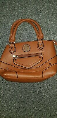 Tan handbag used