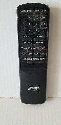 Zenith VCR Plus Remote Control