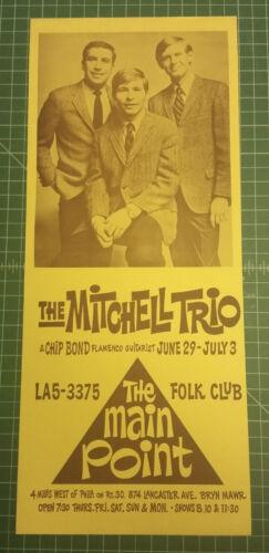 JOHN DENVER *** FIRST SOLO PERFORMANCE *** Original 1967 Concert Poster