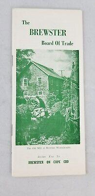 Brewster Cape Cod Mass. Vistors Guide vintage