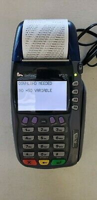 Verifone Vx570 Credit Card Terminal Vx 570 Omni 5750 M257-553-02-naa