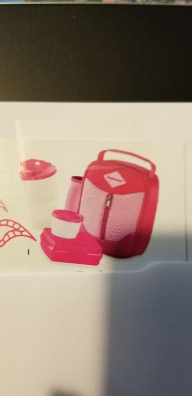 Tupperware Girls Fun And Durable Lunch Set