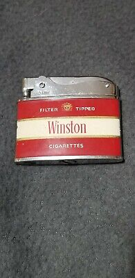 Vintage Zenith Winston Advertising Lighter!! Untested as-is. Made in Japan.