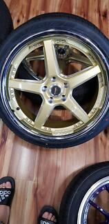 "20"" vertini drift wheels and tyres ford"