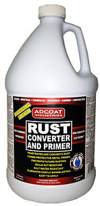 Rust Converter &Primer: Gallon -- One Step to Remove Rust and Prime Surface