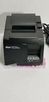 Star Micronics Tsp100 Eco Futureprnt Network Thermal Pos Printer Wcd Manual