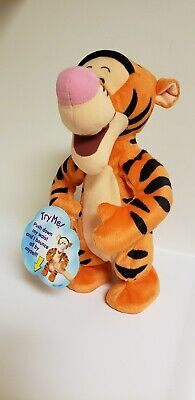 TIGGER CHECKBOOK COVER FABRIC CATCHING LIGHTING BUGS WINNIE THE POOH