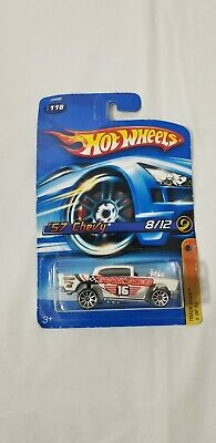 2006 Hot Wheels Track Aces '57 Chevy 118 5 Spoke