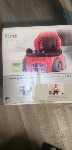 The First Years Training Wheels Racer Potty System | Easy to