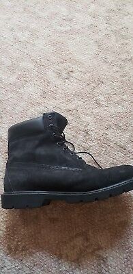 Mens Timberland Boots Black Size 11.5M
