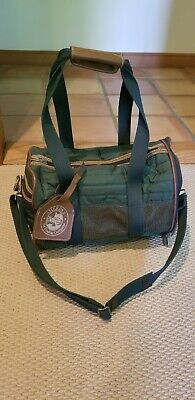Sz SMALL Sherpa's Pet Trading Co Approved Dark Green Deluxe Dog Cat Carrier Bag