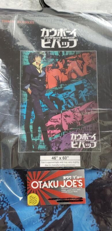 Cowboy Bebop Throw Blanket