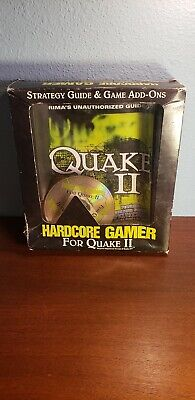 Hardcore Gamer for Quake II (PC, 1998) NEW IN BOX! FACTORY SEALED