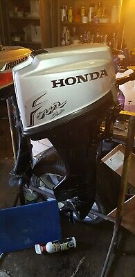 Honda 7.5hp outboard engine 4 stroke, short shaft.