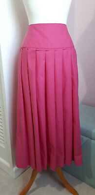 Vintage Laura Ashley Skirt Pink Size S 8 10