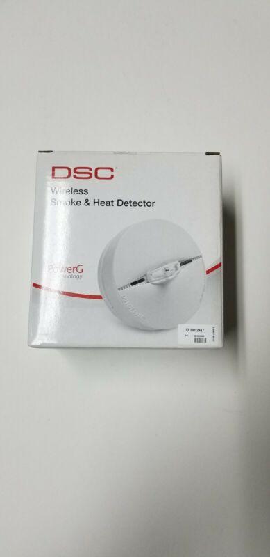 DSC PG9916 Wireless PowerG Smoke Detector Heat Detector Alarm