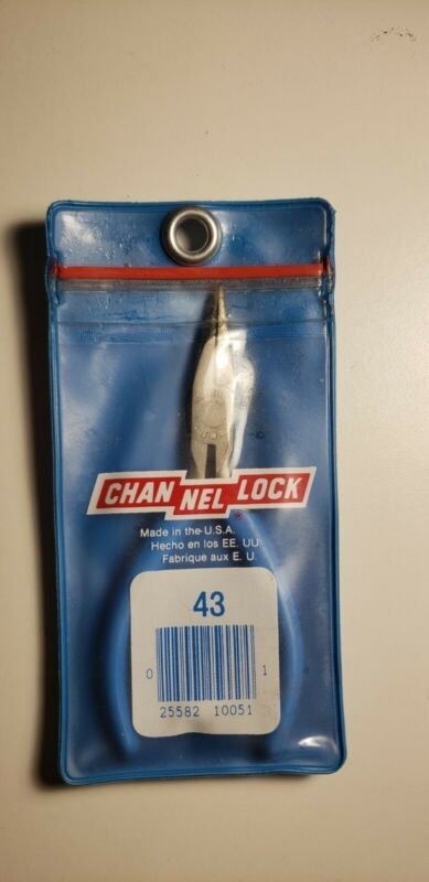 Channellock 43G Needle Nose Pliers 4.75in