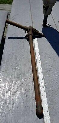 Ridgid 2-s Spiral Pipe Reamer W Handle 14-2 Pipe Threading.