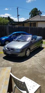 2002 Renault Megane Convertible Long Rego Low Kms Priced to Sell! Westmeadows Hume Area Preview