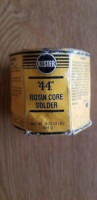 Kester 66 44 Rosin Core Solder Diameter .031 1 Lb