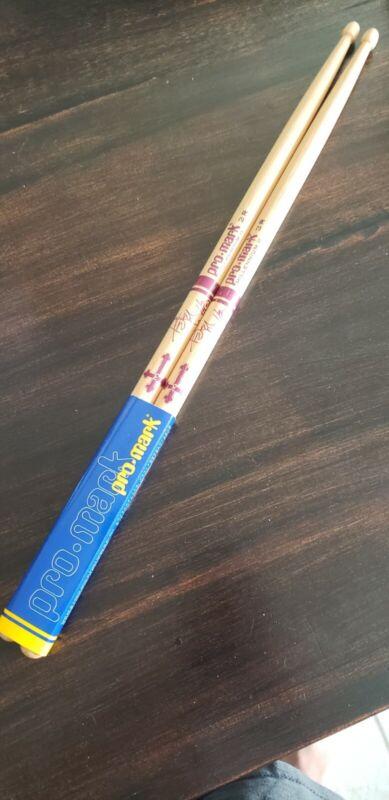 Rare Peter Criss Purple Drumsticks / KISS