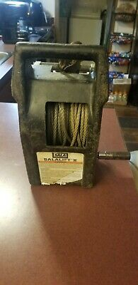 Dbi-sala 8102001 Salalift Ii Confined Space Winch 60 Ft Fall Safety Lifeline Srl