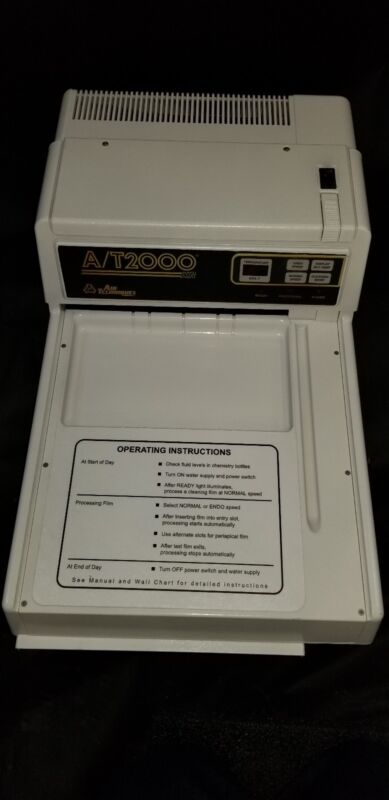 AIR TECHNIQUES AT2000XR  FILM PROCESSOR WITH FULL 1 YEAR  WARRANTY *NO ROLLERS*