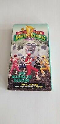 Mighty Morphin Power Rangers The Wanna Be Ranger VHS Movie (Mighty Morphin Power Rangers The Wanna Be Ranger)