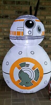Star Wars BB-8 Airblown Inflatable Lighted Christmas Decoration Disney Robot BB8