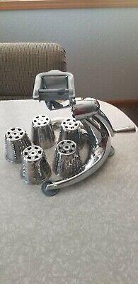 Saladmaster V Machine Food Processor Slicer Grater Shredder Chopper