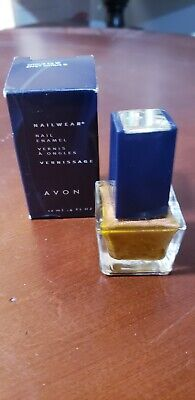 NEW AVON Nail Polish Nailwear Enamel .4 fl oz~CITRUS