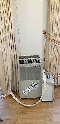 delonghi portable air conditioner split very quiet