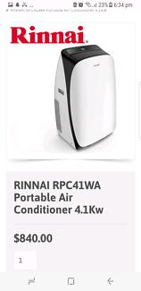 Rinnai 4.1kw Almost brand new