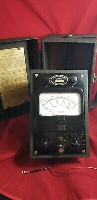 Associated Research Vibrotest 201 Wleadsmanual 1940s Us Military Multimeter 39