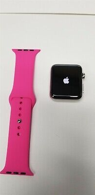 Apple Watch Series 3 Hermes 42mm Stainless Ceramic (Cellular) 16gb A1861 VG8367
