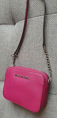 Michael Kors Jet Set mini Travel EW deep Pink  Crossbody Bag