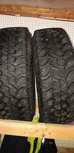 Goodyear Territory studded tires