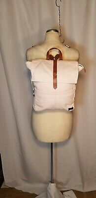 RARE Backpack by ABERCROMBIE & FITCH, Pink,  Canvas