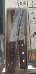 forschner 6 curved boning knife wood handle