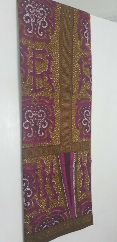 Beautiful+African+print+fabric+Olive+green+and+purple+