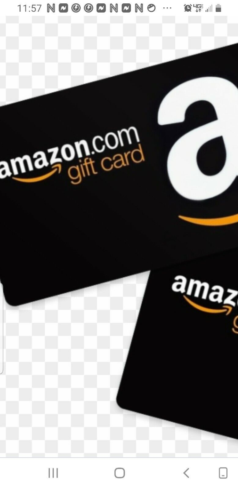 2.00 AMAZON GIFT CARD  - $1.81
