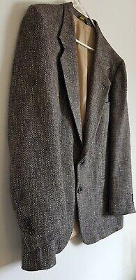 Nino Brown Suit (Nino Cerruti Men's Two Button Front Suit Jacket Blended Brown 44)