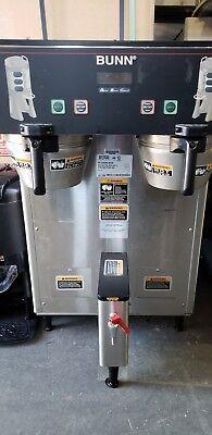 Bunn Dual Tf Dbc Thermofresh Digital Coffee Brewer Maker W Faucet 1609