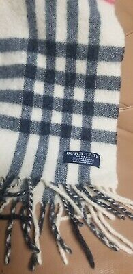 burberry london scarf 100% lambswool nova check  shawl unisex